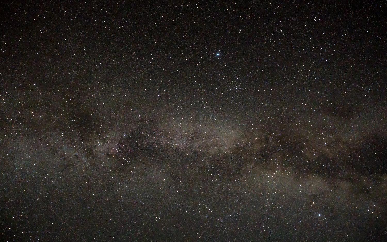 Nachthimmel über Valbona