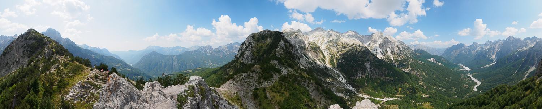 Valbona Pass, Qafa e Valbonës