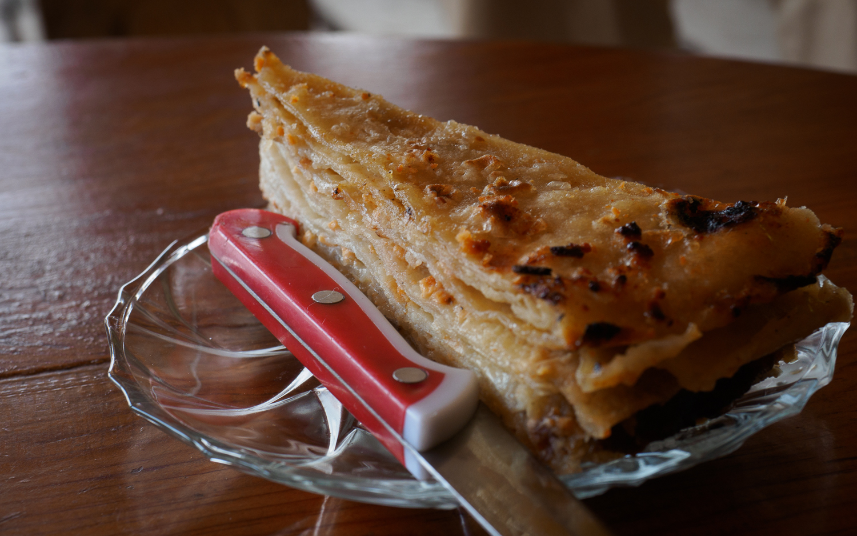 Flija - Albanisches Essen