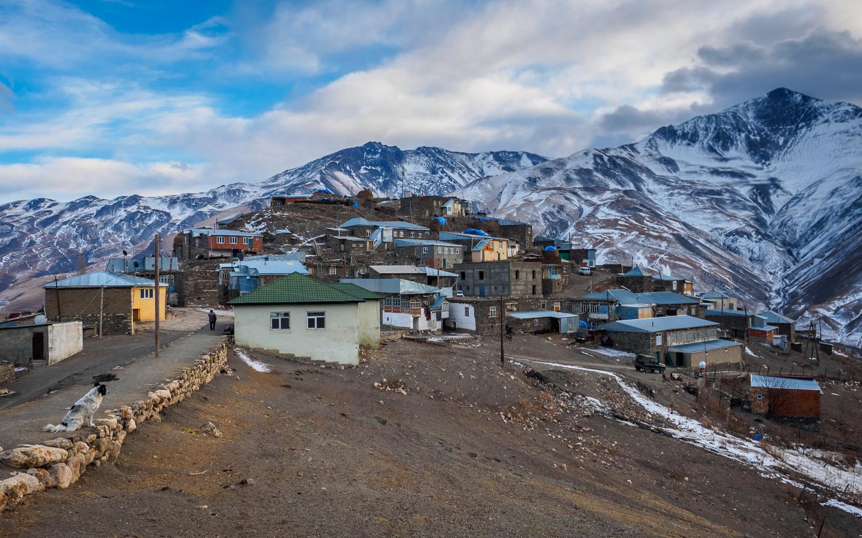 Xınalıq in Aserbaidschan