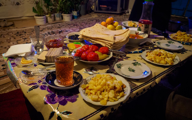 Essen in Qrız